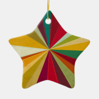 Christmas Bright Star Gift Heart Ornament