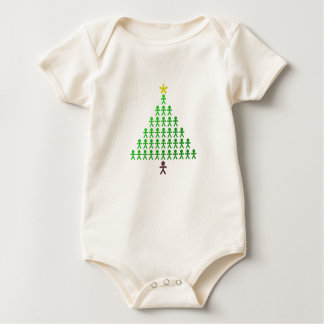 Christmas Brings Us Together Baby Bodysuit