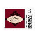Christmas Brocade Red Stamp 2