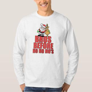 Christmas Bros Santa and Rudolph T-Shirt