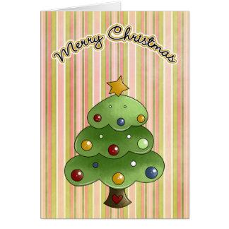 Christmas Bubble Tree Card