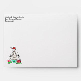 Christmas Buddha Envelopes