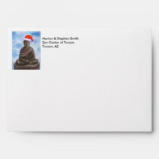 Christmas Buddha II Envelopes