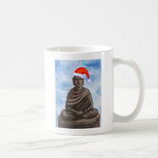 Christmas Buddha! Mugs