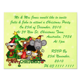 Christmas Buddies Card