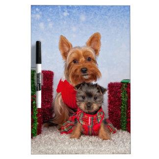 Christmas Buddies Dry-Erase Whiteboards