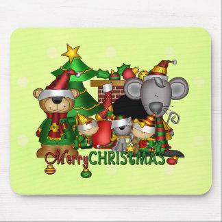 Christmas Buddies Mousepads