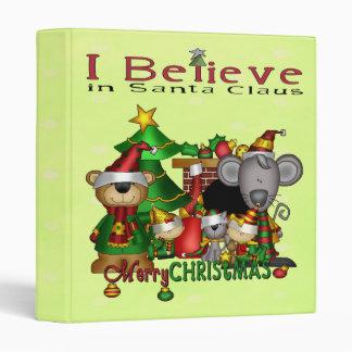 Christmas Buddies Vinyl Binders