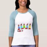 Christmas Budgies T-Shirts