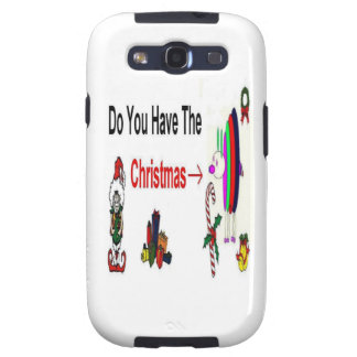 Christmas Bug Galaxy S3 Cases