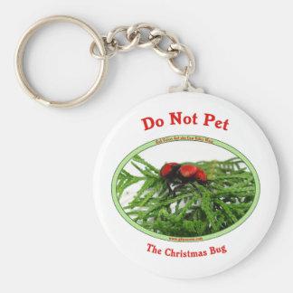 Christmas Bug Cow Killer Wasp Keychain