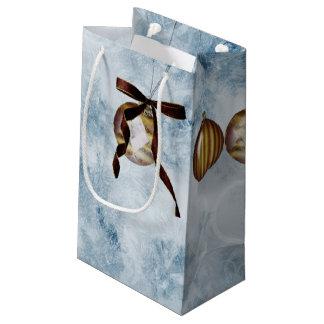 Christmas Bulb Newton's Cradle Small Gift Bag