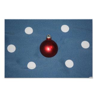 Christmas Bulb Photo Print