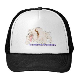 Christmas Bull dogs Ramona Trucker Hat