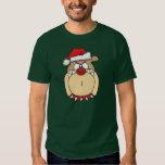 Christmas Bulldog Hooded Sweatshirt