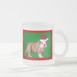 Christmas Bulldog puppy Mug