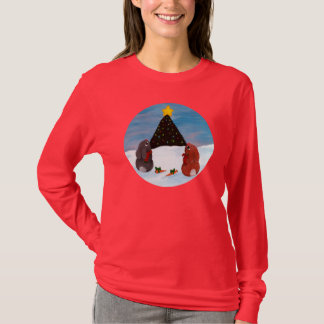 Christmas Bunnies T-Shirt