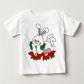 Christmas Bunny Baby T-Shirt