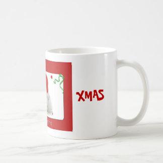 Christmas Bunny Coffee Mug