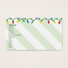 Christmas - Business Business Card at Zazzle