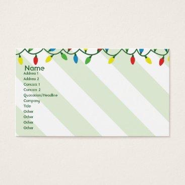 Christmas Themed Christmas - Business Business Card