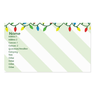 Christmas - Business Double-Sided Standard Business Cards (Pack Of 100)