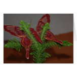 Christmas Butterfly Card