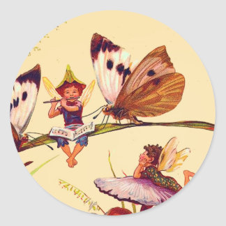 Christmas Butterfly Fairy Sticker