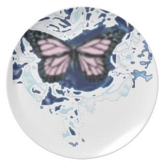 Christmas Butterfly plate