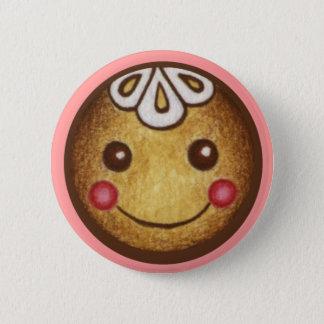 Christmas Button Gingerbread Boy Girl