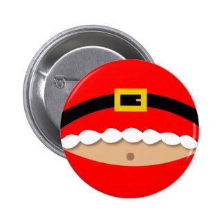 Christmas button - Santa Suit