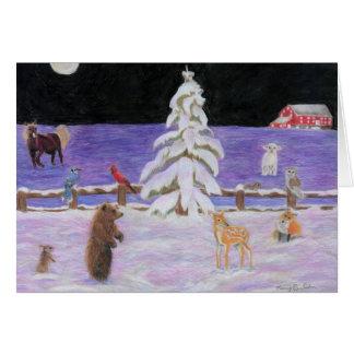 Christmas by Autistic Artist Marci Deutsch Card
