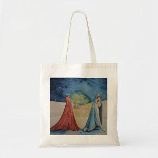 Christmas By Lantern Light Tote Bag