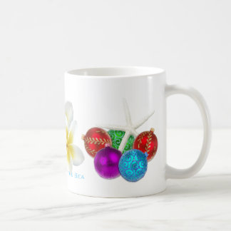 Christmas by the Sea Coastal Theme Mug or Cup