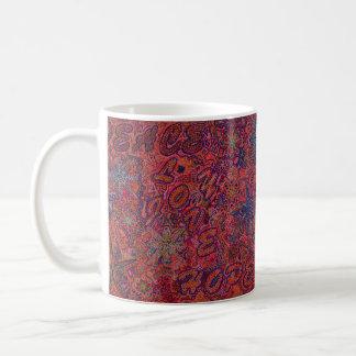 Christmas by Vamoodle. Peace,love,joy, and hope Coffee Mug