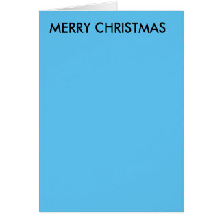 christmas caard for anyone card