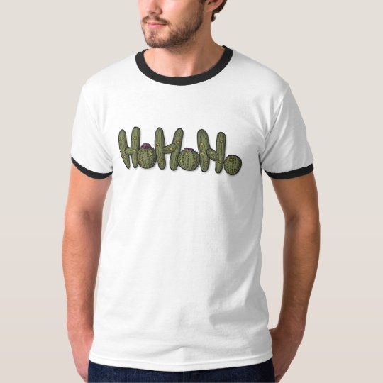 Christmas Cacti ringer T-Shirt