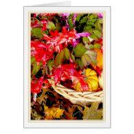 Christmas Cactus, Holiday 2010 Greeting Card