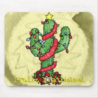 Christmas Cactus Mousepad