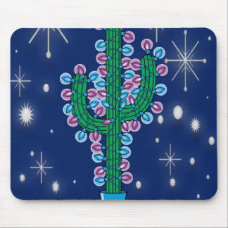 Christmas cactus mouse pads