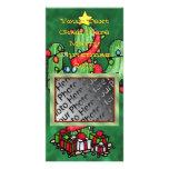Christmas Cactus Photo Card