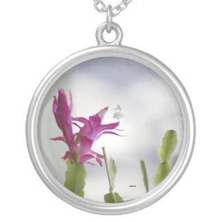 Christmas Cactus Shadow Fairy Necklace