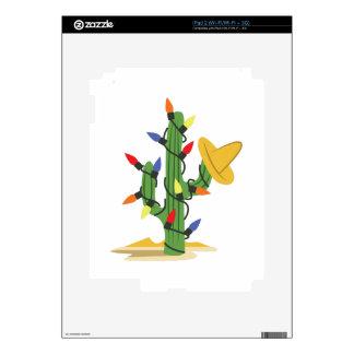 Christmas Cactus Skins For iPad 2