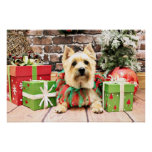 Christmas - Cairn Terrier - Lola Print
