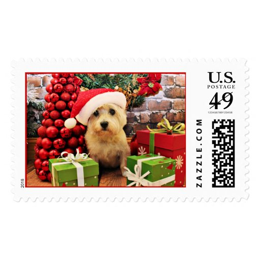 Christmas - Cairn Terrier - Roxy Postage