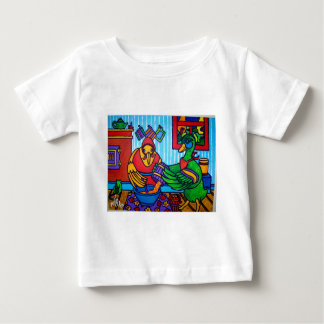 Christmas Cake by Piliero Baby T-Shirt