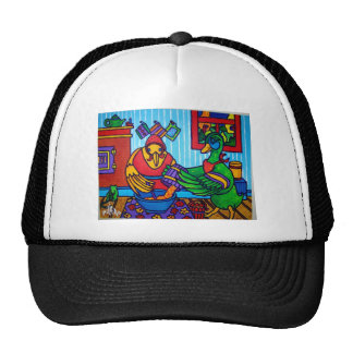 Christmas Cake by Piliero Trucker Hats