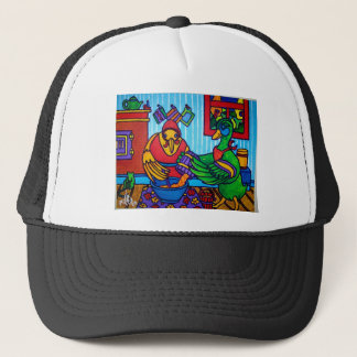Christmas Cake by Piliero Trucker Hat