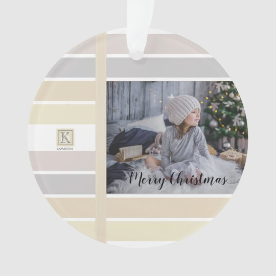 Christmas Colors Palette.Christmas Calligraphy Winter Color Palette Photo Ornament