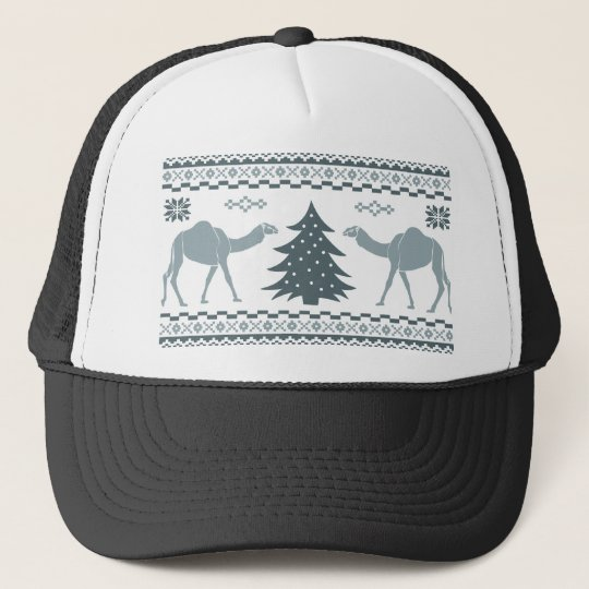 Christmas Camel Hump Day Ugly Sweater Trucker Hat